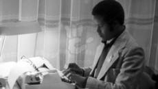 Keydka Gobdon 5 His office at Villa Somalia